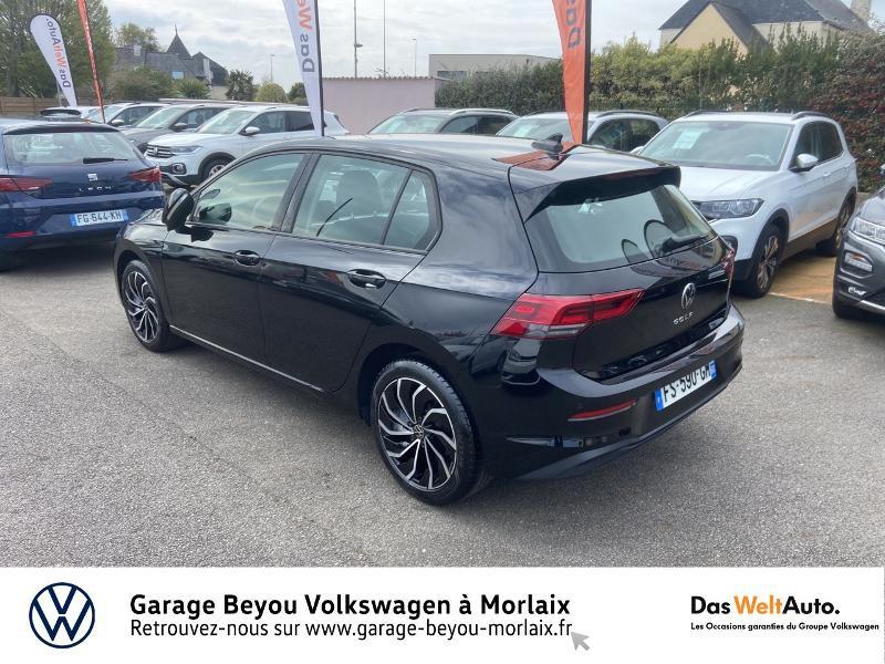 Volkswagen Golf 2.0 TDI SCR 115ch Life 1st Noir occasion à Morlaix - photo n°3
