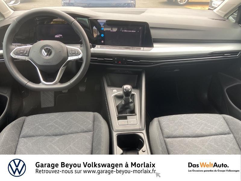 Volkswagen Golf 2.0 TDI SCR 115ch Life 1st Noir occasion à Morlaix - photo n°6