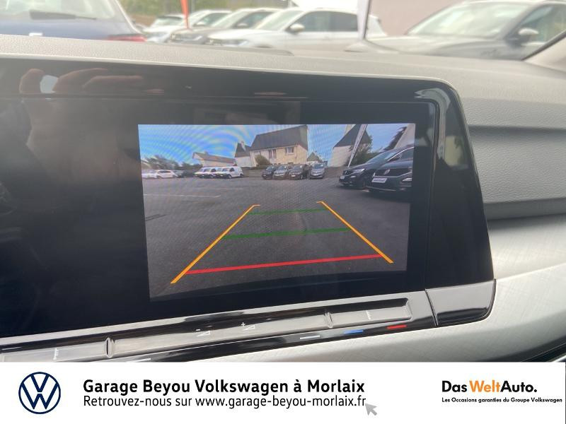 Volkswagen Golf 2.0 TDI SCR 115ch Life 1st Noir occasion à Morlaix - photo n°17