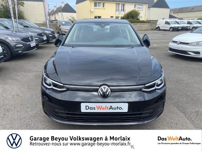 Volkswagen Golf 2.0 TDI SCR 115ch Life 1st Noir occasion à Morlaix - photo n°5