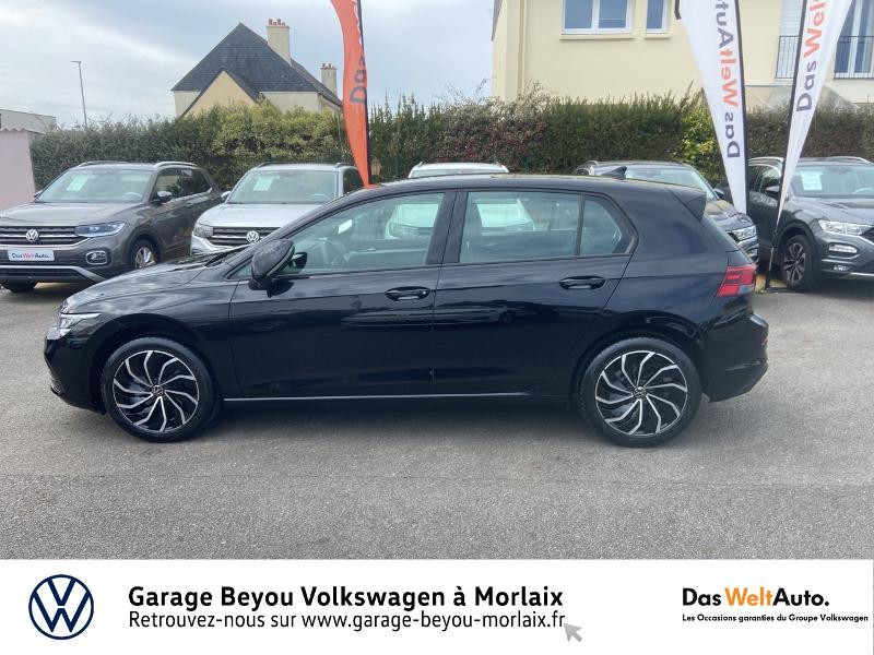 Volkswagen Golf 2.0 TDI SCR 115ch Life 1st Noir occasion à Morlaix - photo n°2