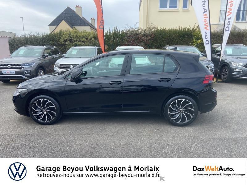 Volkswagen Golf 2.0 TDI SCR 115ch Life 1st Noir occasion à Saint-Martin-des-Champs - photo n°2