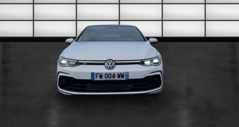 Volkswagen Golf 2.0 TDI SCR 150ch R-Line 1st DSG7 Blanc occasion à La Rochelle - photo n°2