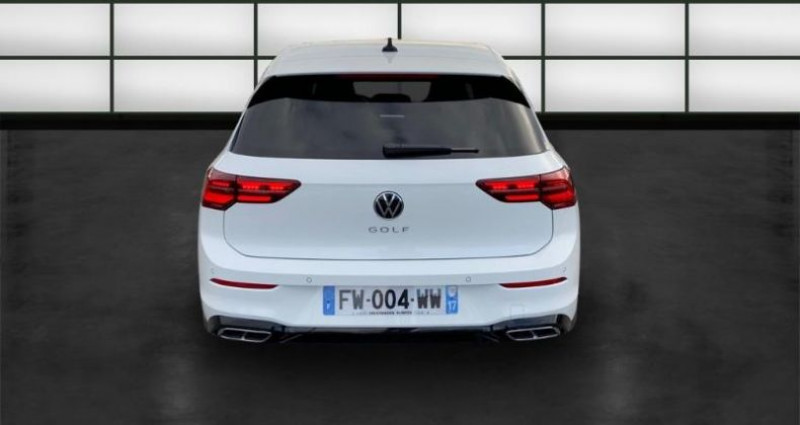 Volkswagen Golf 2.0 TDI SCR 150ch R-Line 1st DSG7 Blanc occasion à La Rochelle - photo n°4