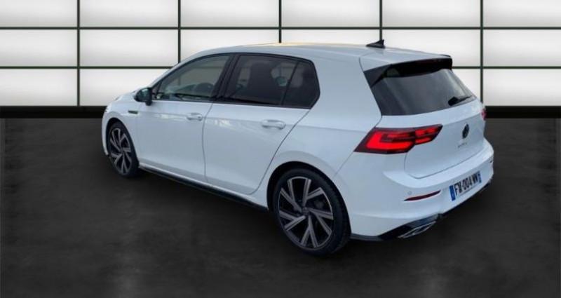 Volkswagen Golf 2.0 TDI SCR 150ch R-Line 1st DSG7 Blanc occasion à La Rochelle - photo n°5