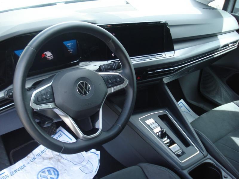 Volkswagen Golf 2.0 TDI SCR 150ch Style 1st DSG7 Gris occasion à Aurillac - photo n°15