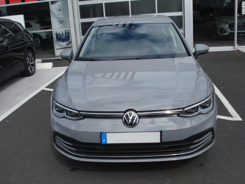 Volkswagen Golf 2.0 TDI SCR 150ch Style 1st DSG7 Gris occasion à Aurillac - photo n°2