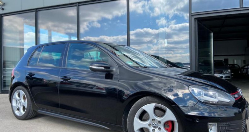 Volkswagen Golf 2.0 TSI 210 GTI Noir occasion à Bouxières Sous Froidmond - photo n°3