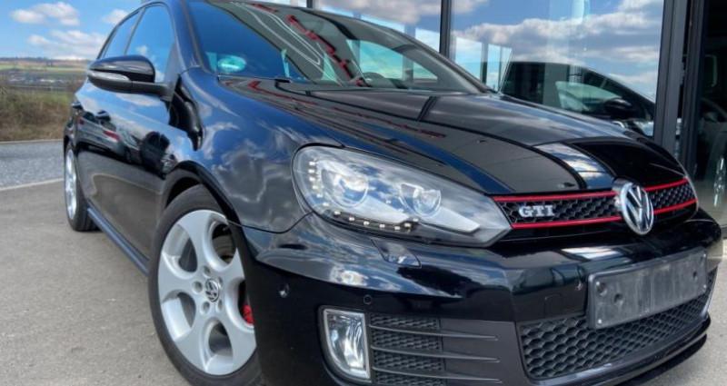 Volkswagen Golf 2.0 TSI 210 GTI Noir occasion à Bouxières Sous Froidmond