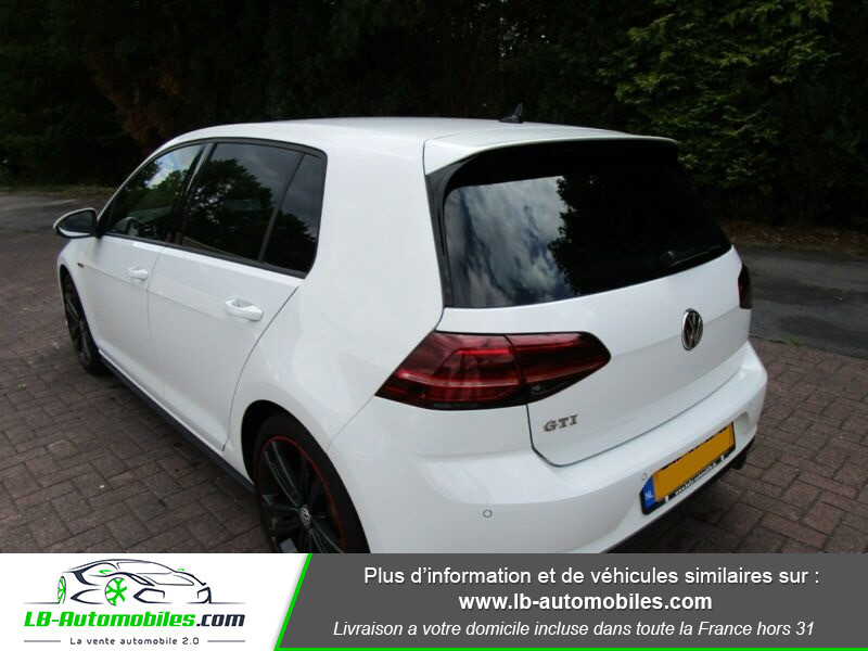 Volkswagen Golf 2.0 TSI 230 BlueMotion Technology DSG6 / GTI Performance Blanc occasion à Beaupuy - photo n°10
