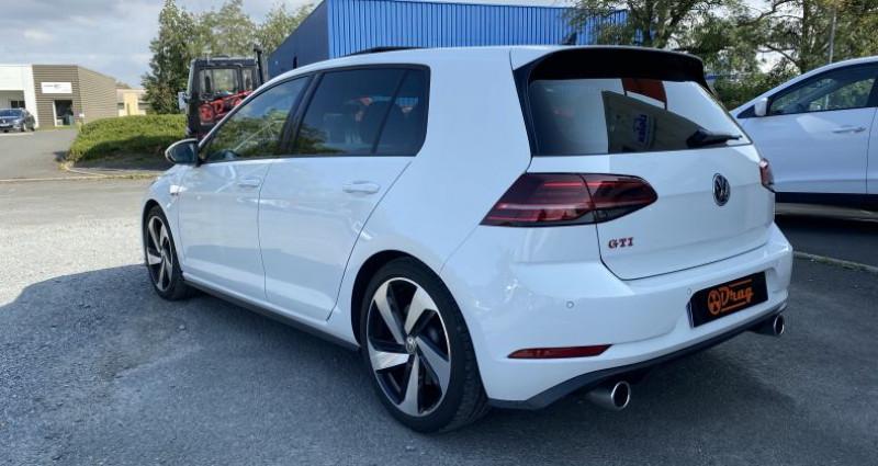 Volkswagen Golf 2.0 TSI 245ch GTI Performance DSG7 Blanc occasion à AVRILLE - photo n°4