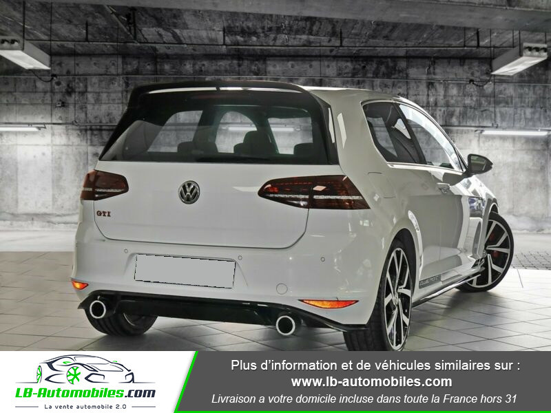 Volkswagen Golf 2.0 TSI 265 DSG / GTI Clubsport Blanc occasion à Beaupuy - photo n°3