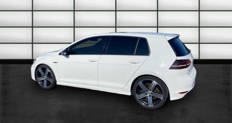 Volkswagen Golf 2.0 TSI 300ch BlueMotion Technology R 4Motion DSG6 5p Blanc occasion à La Rochelle - photo n°5
