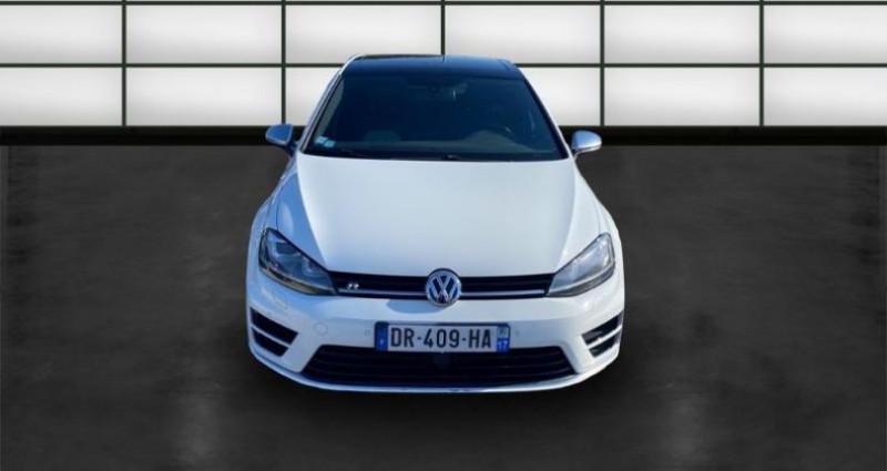 Volkswagen Golf 2.0 TSI 300ch BlueMotion Technology R 4Motion DSG6 5p Blanc occasion à La Rochelle - photo n°2
