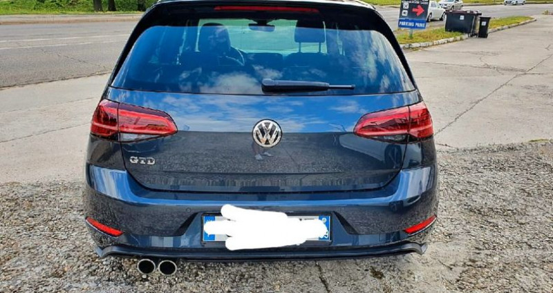 Volkswagen Golf 7 gtd facelift dsg 184 cv  occasion à Viriat - photo n°5