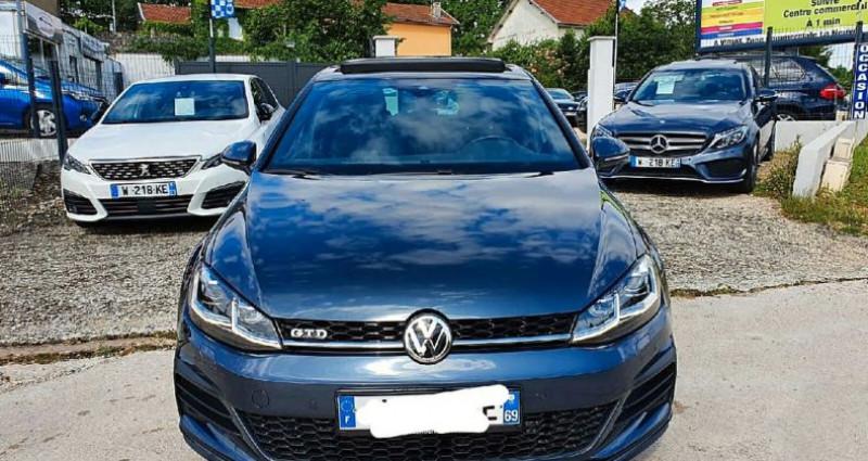 Volkswagen Golf 7 gtd facelift dsg 184 cv  occasion à Viriat - photo n°3