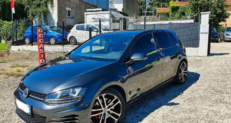 Volkswagen Golf 7 gtd sport and sound dsg Gris occasion à Viriat