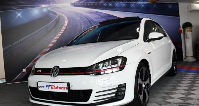 Volkswagen Golf 7 GTI Performance 2.0 TSI 230 DSG GPS Pro TO DCC Caméra Dyna Blanc occasion à Sarraltroff - photo n°7
