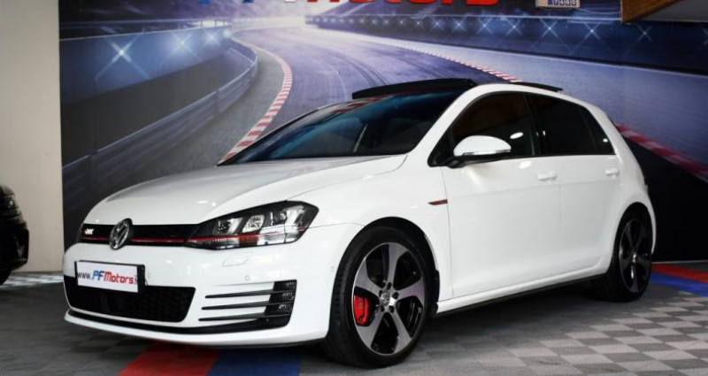 Volkswagen Golf 7 GTI Performance 2.0 TSI 230 DSG GPS Pro TO DCC Caméra Dyna Blanc occasion à Sarraltroff - photo n°4