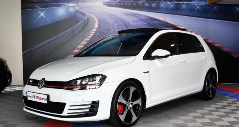 Volkswagen Golf 7 GTI Performance 2.0 TSI 230 DSG GPS Pro TO DCC Caméra Dyna Blanc occasion à Sarraltroff - photo n°3