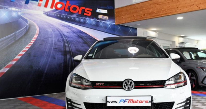 Volkswagen Golf 7 GTI Performance 2.0 TSI 230 DSG GPS Pro TO DCC Caméra Dyna Blanc occasion à Sarraltroff - photo n°6
