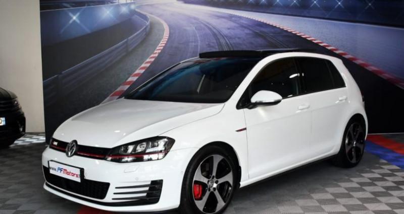 Volkswagen Golf 7 GTI Performance 2.0 TSI 230 DSG GPS Pro TO DCC Caméra Dyna Blanc occasion à Sarraltroff - photo n°2