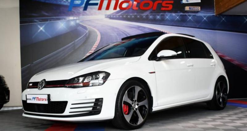 Volkswagen Golf 7 GTI Performance 2.0 TSI 230 DSG GPS Pro TO DCC Caméra Dyna Blanc occasion à Sarraltroff