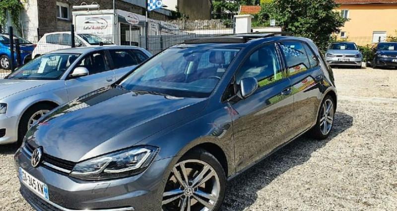 Volkswagen Golf 7 r- line exclusive tdi 150 cv facelift Gris occasion à Viriat