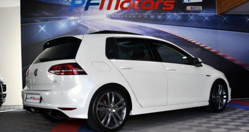 Volkswagen Golf 7 R-Line Lounge 2.0 TDI 150 Boite 6 Toit ouvrant Dynaudio Bl Blanc occasion à Sarraltroff - photo n°4