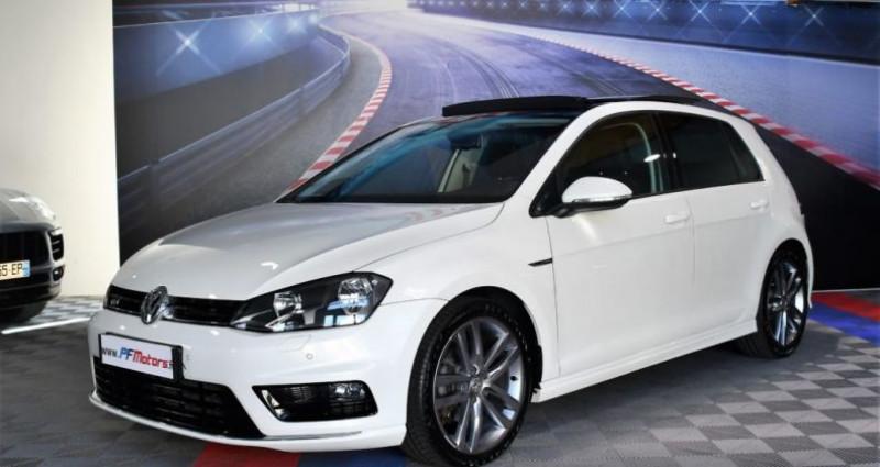 Volkswagen Golf 7 R-Line Lounge 2.0 TDI 150 Boite 6 Toit ouvrant Dynaudio Bl Blanc occasion à Sarraltroff - photo n°7