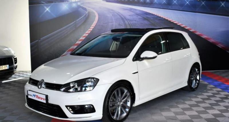 Volkswagen Golf 7 R-Line Lounge 2.0 TDI 150 Boite 6 Toit ouvrant Dynaudio Bl Blanc occasion à Sarraltroff - photo n°6