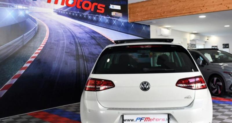 Volkswagen Golf 7 R-Line Lounge 2.0 TDI 150 Boite 6 Toit ouvrant Dynaudio Bl Blanc occasion à Sarraltroff - photo n°5