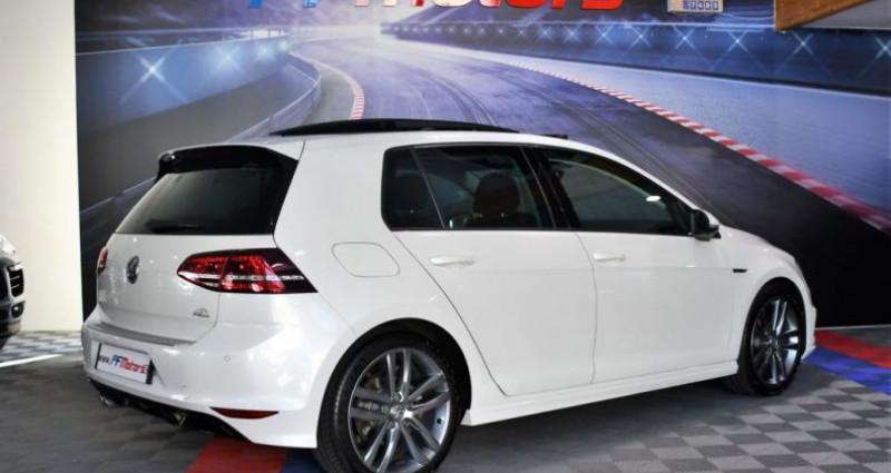 Volkswagen Golf 7 R-Line Lounge 2.0 TDI 150 Boite 6 Toit ouvrant Dynaudio Bl Blanc occasion à Sarraltroff - photo n°3