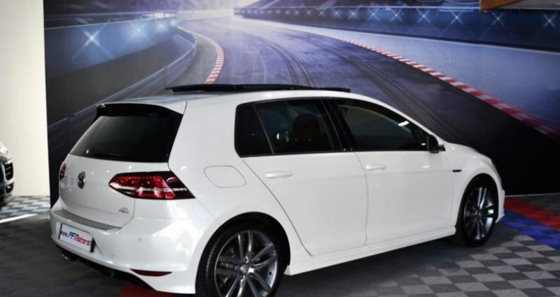 Volkswagen Golf 7 R-Line Lounge 2.0 TDI 150 Boite 6 Toit ouvrant Dynaudio Bl Blanc occasion à Sarraltroff - photo n°2