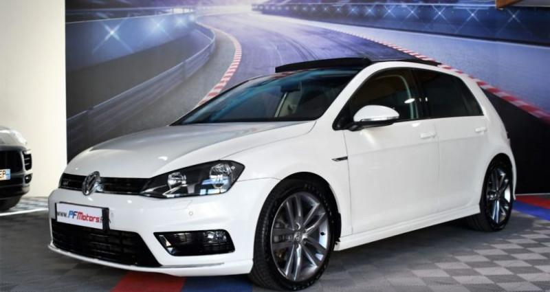 Volkswagen Golf 7 R-Line Lounge 2.0 TDI 150 Boite 6 Toit ouvrant Dynaudio Bl Blanc occasion à Sarraltroff