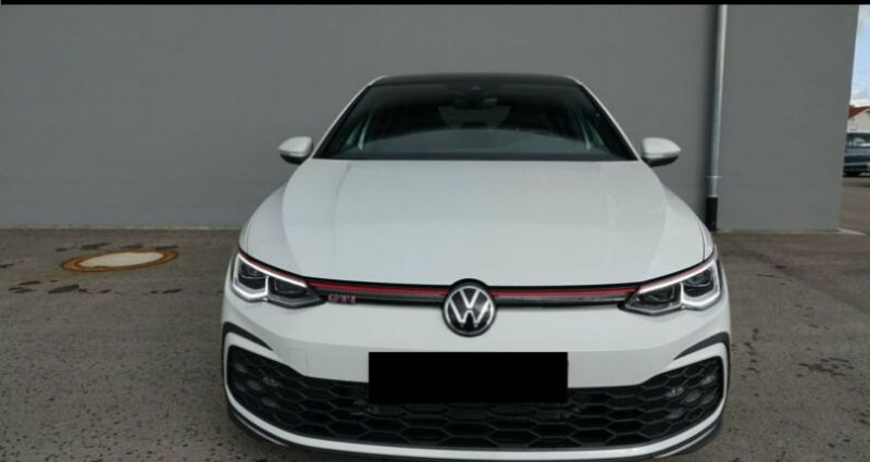 Volkswagen Golf 8 GTI 2.0 TSI DSG 5P Blanc occasion à Montévrain - photo n°3