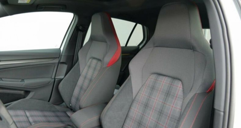 Volkswagen Golf 8 GTI 2.0 TSI DSG 5P Blanc occasion à Montévrain - photo n°6