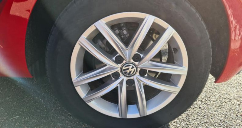 Volkswagen Golf ADVANCE + GPS VII TDI 115 Rouge occasion à SAINTES - photo n°7