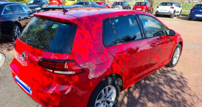 Volkswagen Golf ADVANCE + GPS VII TDI 115 Rouge occasion à SAINTES - photo n°3