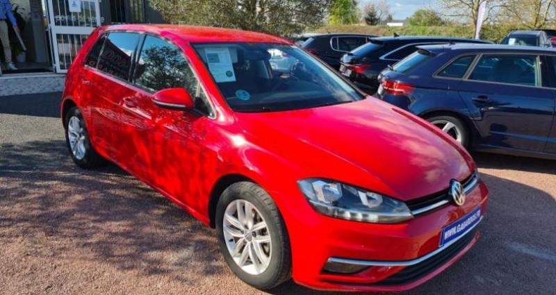 Volkswagen Golf ADVANCE + GPS VII TDI 115 Rouge occasion à SAINTES - photo n°2