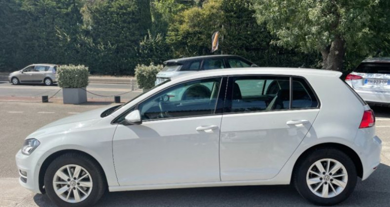 Volkswagen Golf BUSINESS 1.4 TSI 125 BlueMotion Technology DSG7 Confortline  Blanc occasion à GASSIN - photo n°7
