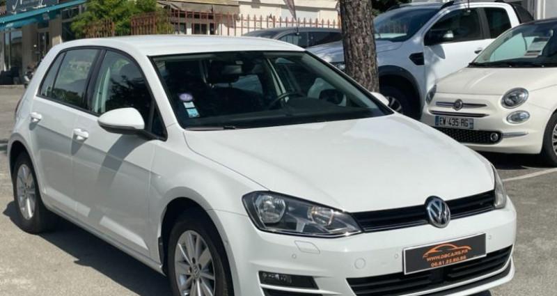 Volkswagen Golf BUSINESS 1.4 TSI 125 BlueMotion Technology DSG7 Confortline  Blanc occasion à GASSIN - photo n°2
