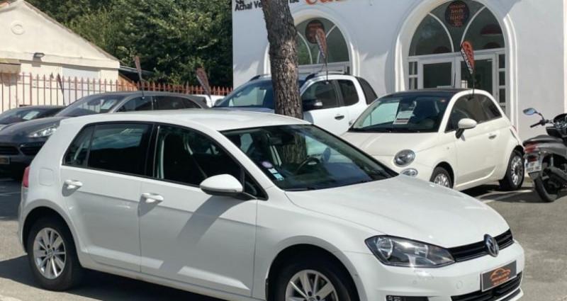Volkswagen Golf BUSINESS 1.4 TSI 125 BlueMotion Technology DSG7 Confortline  Blanc occasion à GASSIN