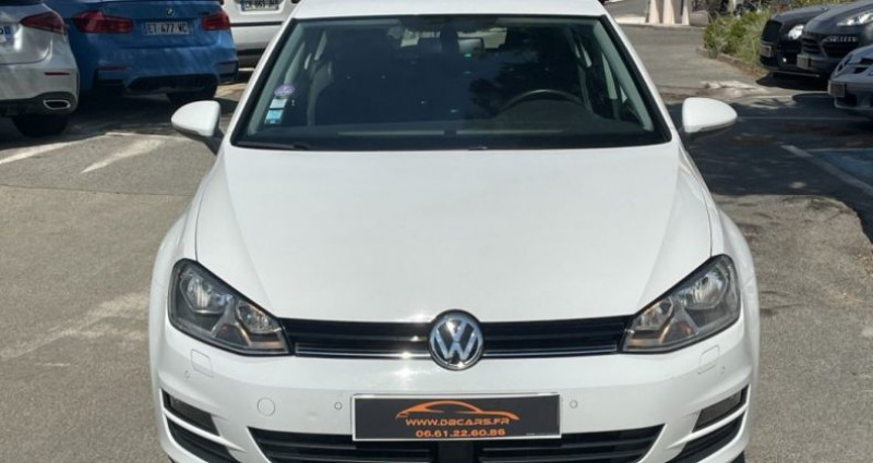 Volkswagen Golf BUSINESS 1.4 TSI 125 BlueMotion Technology DSG7 Confortline  Blanc occasion à GASSIN - photo n°4
