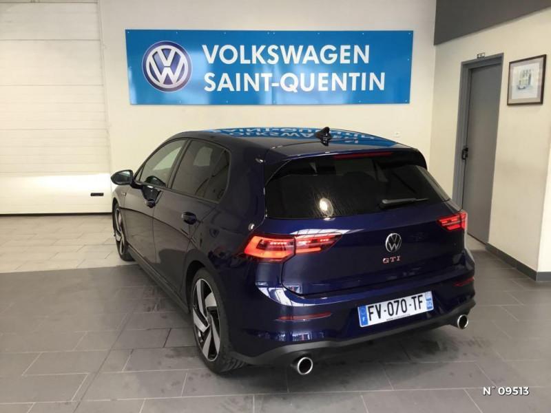 Volkswagen Golf GOLF 8 2.0 TSI 245 CH DSG7 GTI SANS LED ANTIBROUILLARDS Bleu occasion à Saint-Quentin - photo n°6