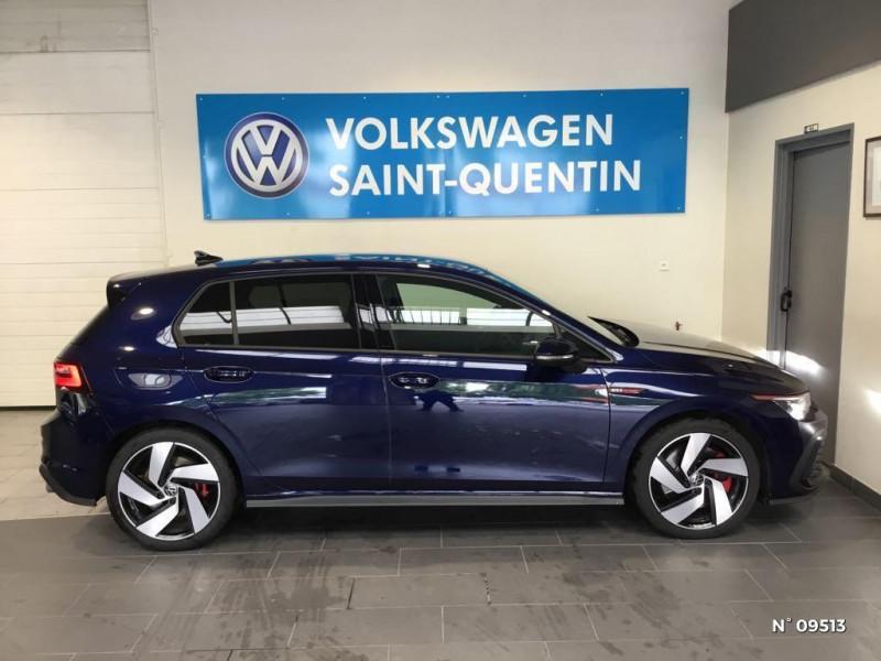 Volkswagen Golf GOLF 8 2.0 TSI 245 CH DSG7 GTI SANS LED ANTIBROUILLARDS Bleu occasion à Saint-Quentin - photo n°7