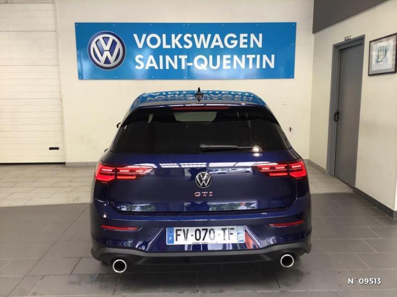 Volkswagen Golf GOLF 8 2.0 TSI 245 CH DSG7 GTI SANS LED ANTIBROUILLARDS Bleu occasion à Saint-Quentin - photo n°3