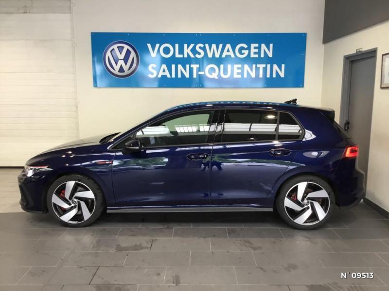 Volkswagen Golf GOLF 8 2.0 TSI 245 CH DSG7 GTI SANS LED ANTIBROUILLARDS Bleu occasion à Saint-Quentin - photo n°8