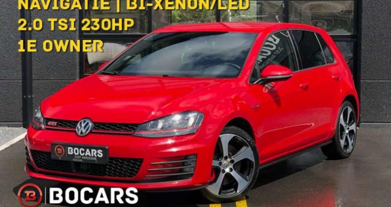 Volkswagen Golf GTI 2.0 TSI 230pk Performance | 1e owner car | DCC Rouge occasion à Kruishoutem