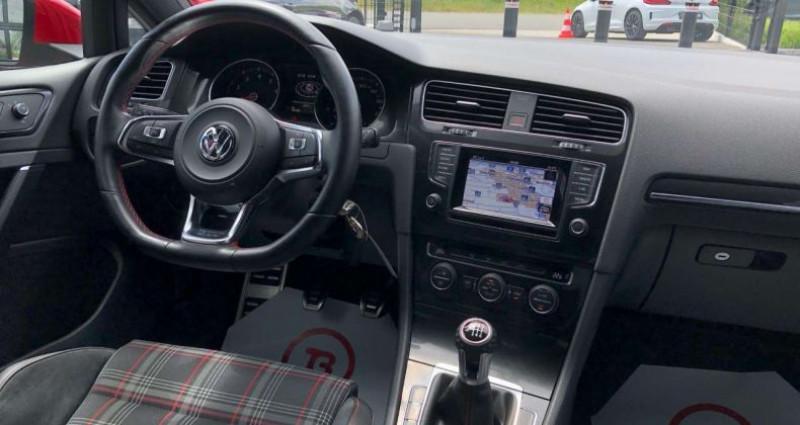 Volkswagen Golf GTI 2.0 TSI 230pk Performance   1e owner car   DCC Rouge occasion à Kruishoutem - photo n°2